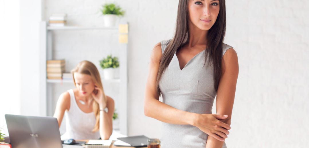 Kvindelig erhvervsdrivende