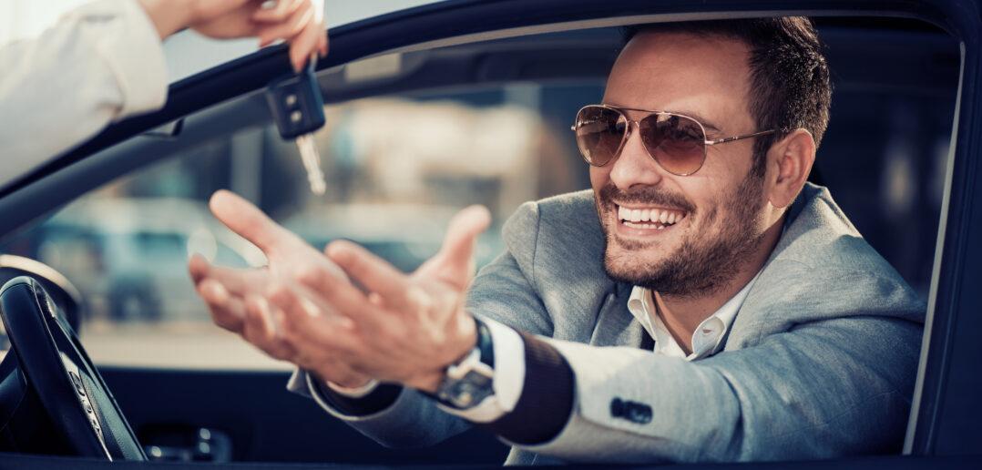 Mand og bil