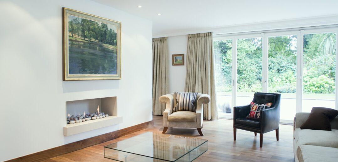 Klassisk hjem med trægulv