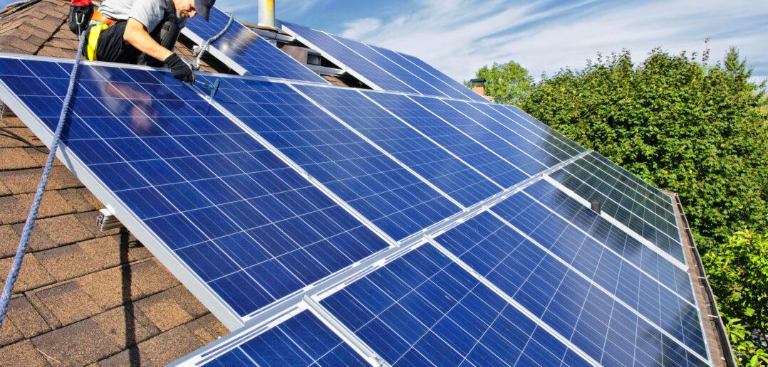 Montering af solceller