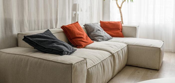 Blød sofa