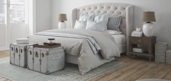 Soveværelse med stil